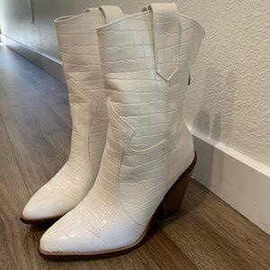 Just Fab x Jessica James Decker Boots